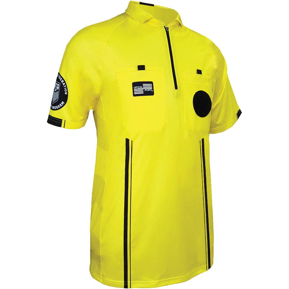 f40327827 Official Sports International USSF Pro referee jersey - yellow