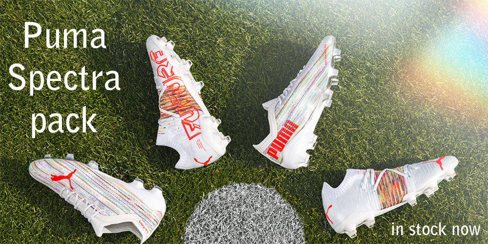 Soccer Center has the new Spectra pack of footwear from Puma