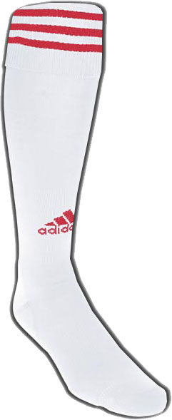adidas Copa Zone cushion sock - white/red
