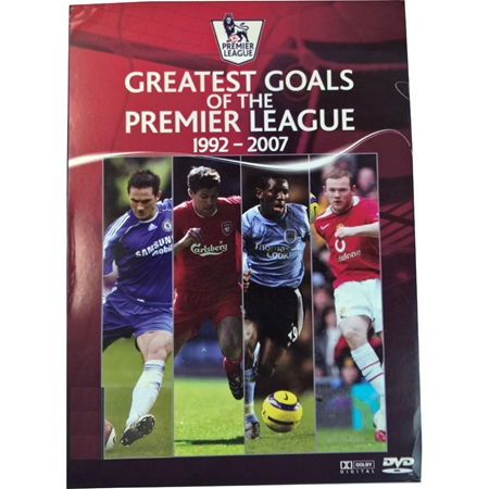 Greatest Goals of the Premier League: 1992-2007 DVD Box front