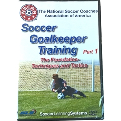 NSCAA Soccer Goalkeeper Training DVD Video 1 front