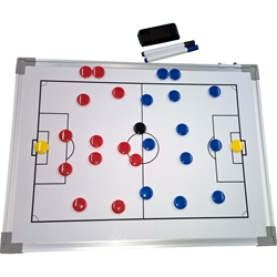 Premier magnetic dry/erase coaching board