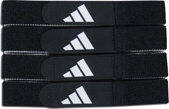 adidas Soccer shinguard straps - black