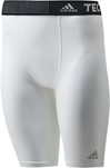 adidas Techfit Base compression short - white front
