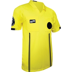 Official Sports International USSF Economy referee jersey - yellow
