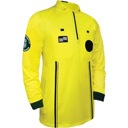 Official Sports International USSF Pro long-sleeve referee jersey - yellow